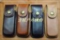 特价销售-MG定型牛皮折刀套,牛皮套,真皮刀套,多用套,4款颜色