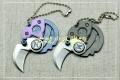 钛合金硬币刀EDC钥匙挂钱币Serge knives小刀