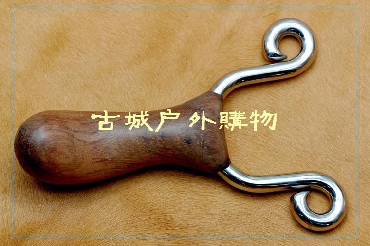 304不锈钢精铸镜光-食雀鹰花梨木把弹弓 - 木叉弹弓 ...